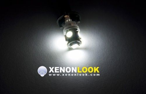 Xenonlook 5-fach W5W LED